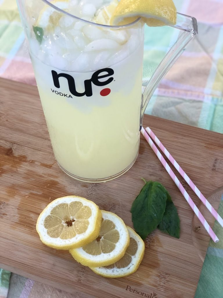 Photo of nue basil lemon drop