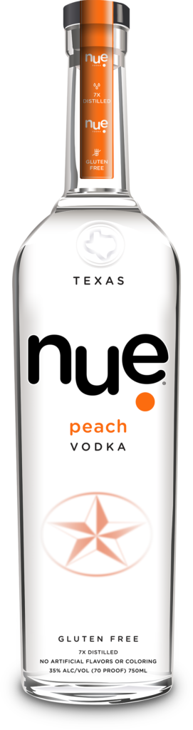 nue vodka peach